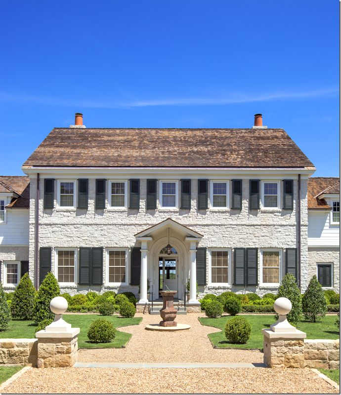 Curtis & Windham Architects. 9 bedrooms, 11 bathrooms and over 16,000 square feet.