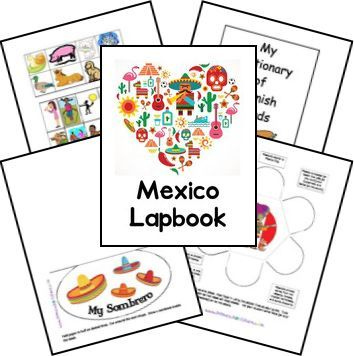 Mexico Country Lapbook: