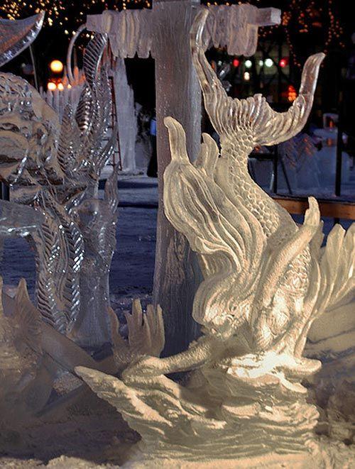 40 Splendid Ice Sculptures for Inspiration