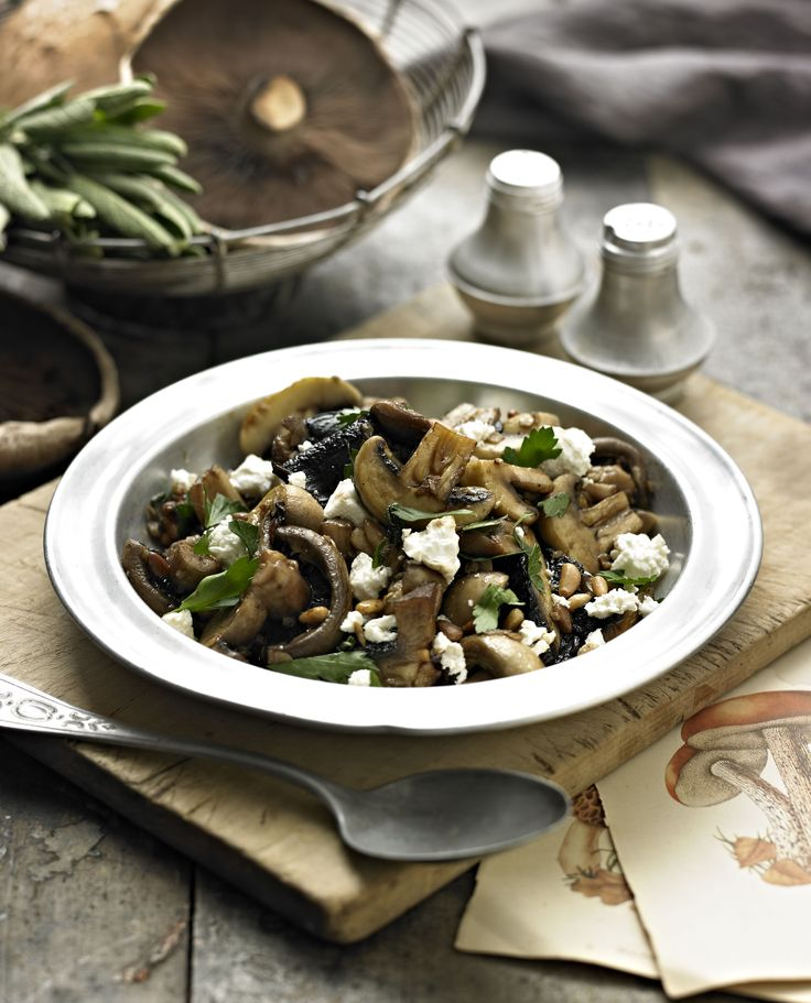 Say Yes to this #tasty Mushroom and Feta treat! Find the #recipe by clicking on the image...