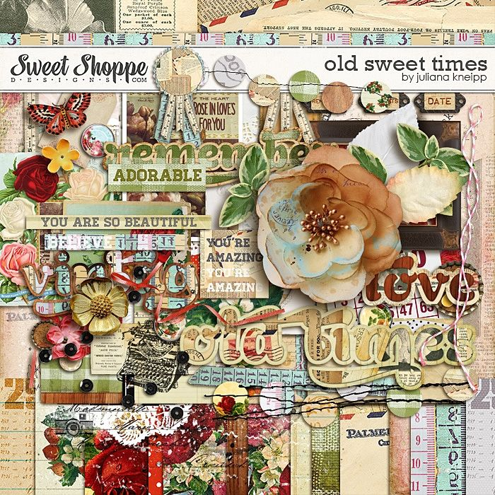 """Old Sweet Times"" von Juliana Kneipp   – Cards & Scrapbooking"