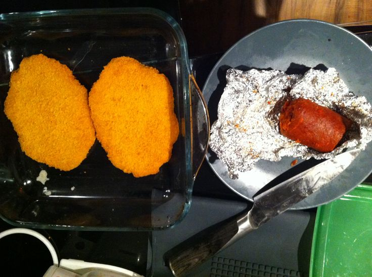 Cooking with The VALiens: Cordon Bleau with 'Nduja