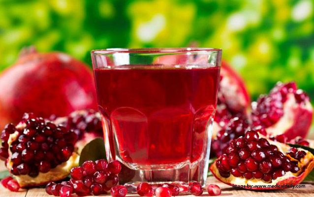 The Most Powerful Fruit - Pomegranate! With a cup of pomegranate juice daily, Stay young Stay beautiful!