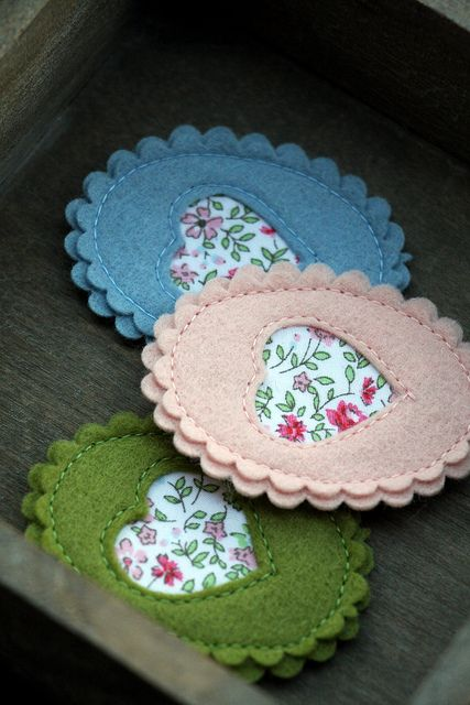 Sweet Cameos by made by agah, via Flickr