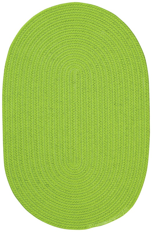 bright lime green rug!