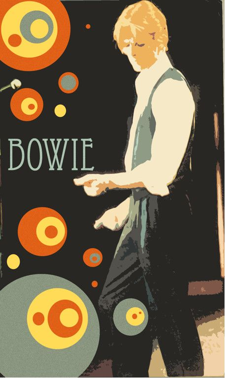 A rather nice David Bowie poster