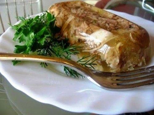 Холодец из курицы Традиционный