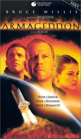 Armageddon (1998) a film by Michael Bay + Bruce Willis + Billy Bob Thornton + Ben Affleck + Liv Tyler + Will Patton