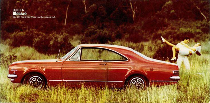 Holden Monaro - brochure (1968)