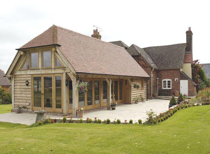 Extensions - Border Oak - oak framed houses, oak framed garages and structures.