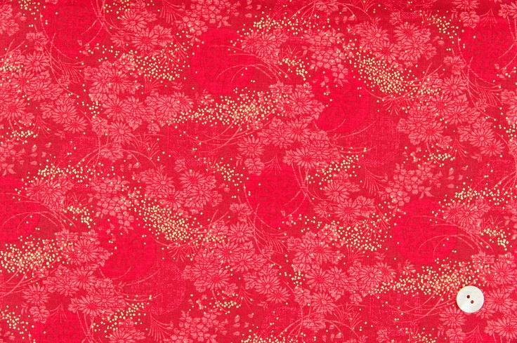 Quilt Gate fabrics Hyakka Ryoran - Hime HR3930-15C