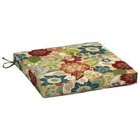 Garden Treasures Bloomery Floral Seat Pad For Universal Af11080b