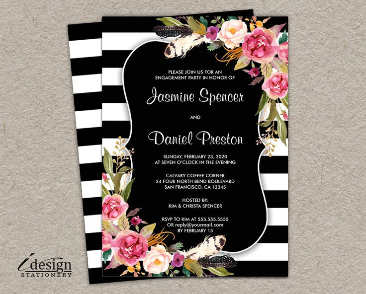 54 best Engagement Party Invitations images – Party Invitation Reply