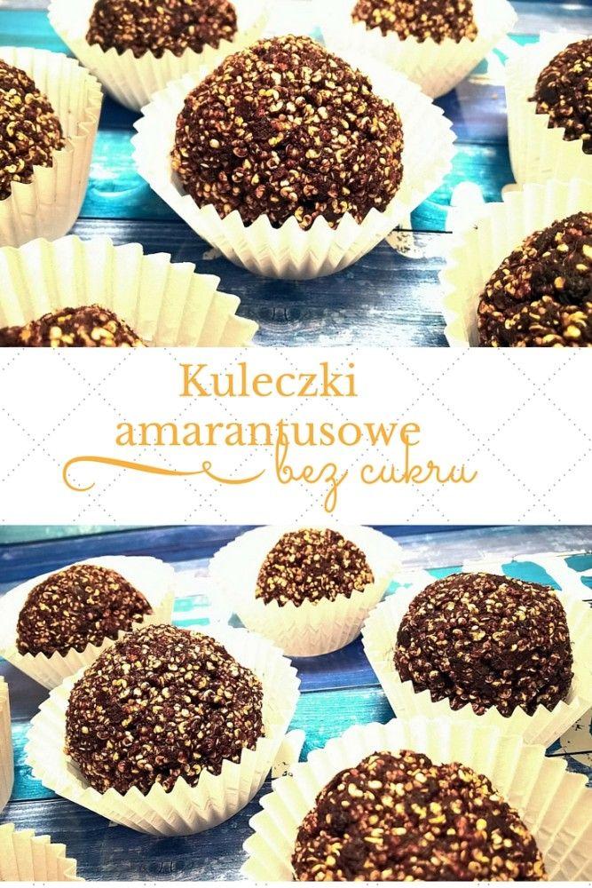 Amaranth sweets (no sugar and no flour) | www.moj-kawalek-podlogi.pl