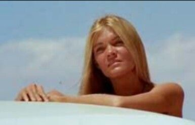 Gilda Texter In Vanishing Point She Played The Nude Rider On Motorcycle Best Of Movies