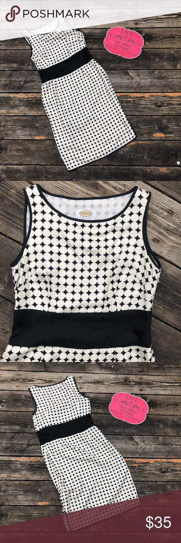 NWOT 100% Silk Polka Dot Talbots Petite Dress This dress is just amazing! Simple cut and trendy polka dots all in a 100% silk fabric makes for a beautiful dress. A must have piece for sure! Talbots Dresses Midi