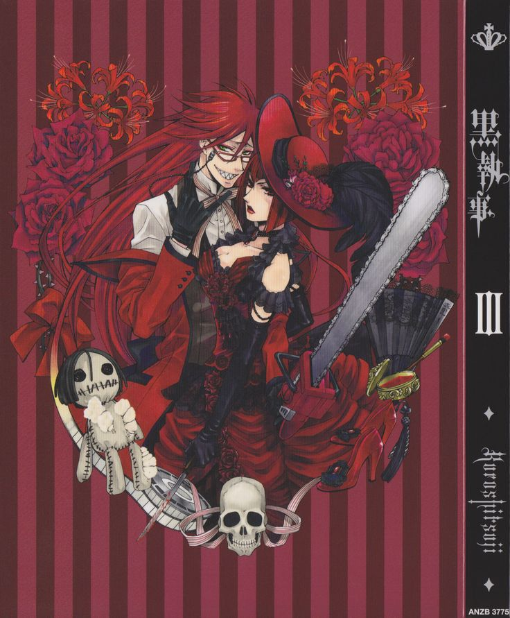 Kuroshitsuji - Angelina Durless & Grell Sutcliff