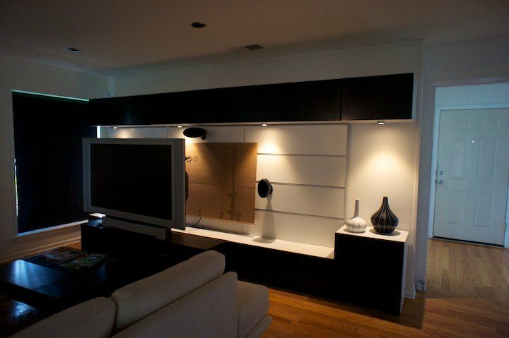 besta framsta tv console hack to manage wires | new place