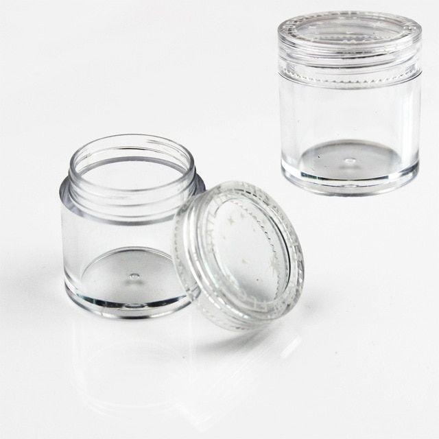 Empty Cosmetic Containers Bottle Contenitori Cosmetici Jar 10gram Envases Plastico Garrafa Plastic Jars Plastic Jars With Lids Plastic Jars Cosmetic Containers