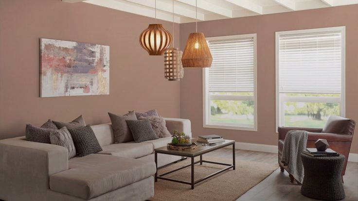 Behr&39;s Color of the Year 2021 Is an Earthy and Harmonious Hue in 2021   Taupe living room ...