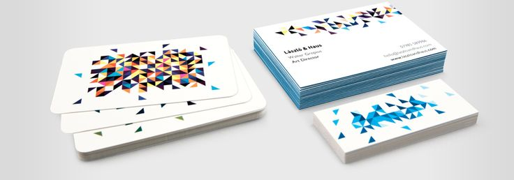 Moo Cards!  Get business cards for creative people who want to share photo's; you can have lots of images on your business cards in each pack!! Also, stickers and post cards. Ask them for a sample of their new Luxe cards.