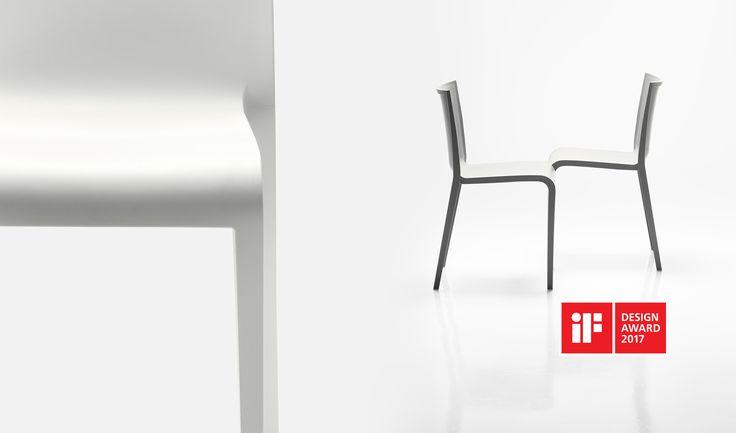 iF DESIGN AWARD 2017 for Nassau chair  designed by Marc Sadler