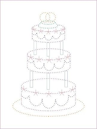 Vp_WeddingCake.jpg 324×432 pixels