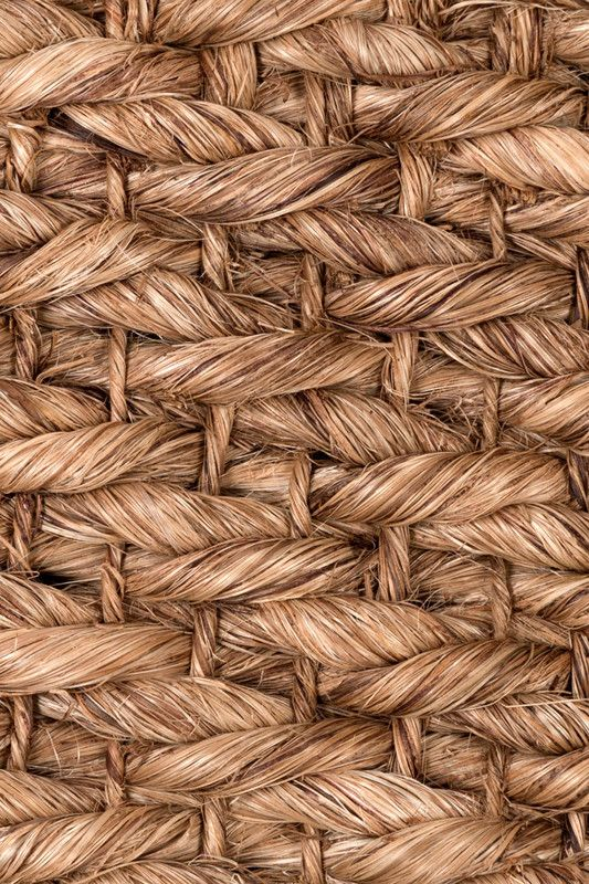 Malaybalay handwoven abaca rug in Bark colorway, by Merida.