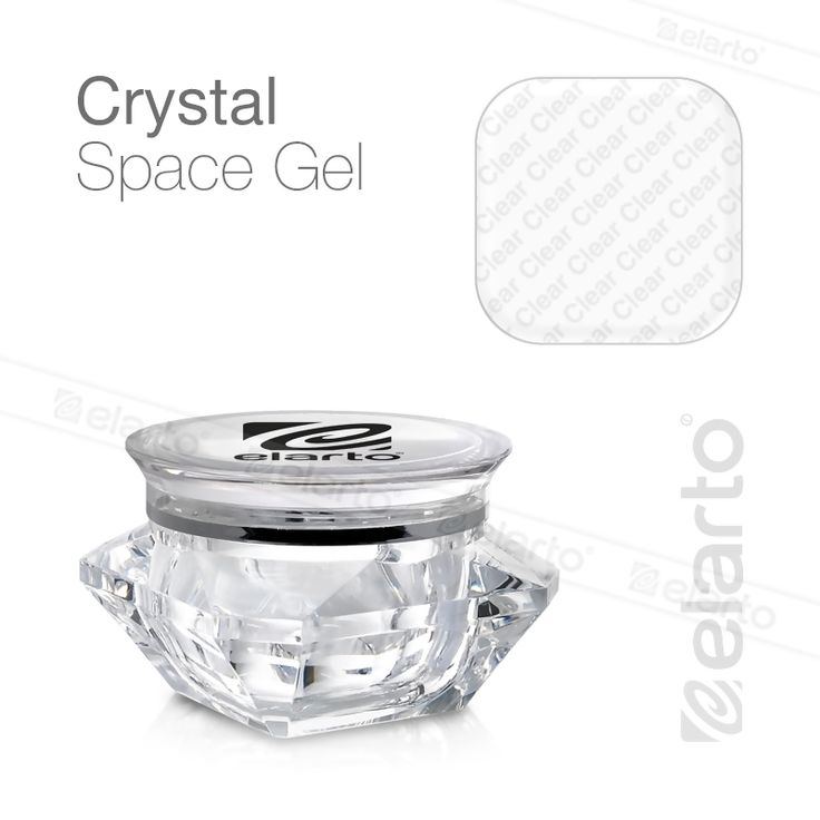 Żel gęsty bezbarwny Crystal Space Gel 30g #elarto #space #gel