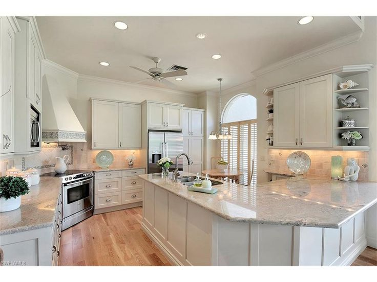 Good 4733 Villa Mare Ln, Naples, FL 34103 | Beautiful Coastal Kitchen In The  Seaside Home Design Ideas