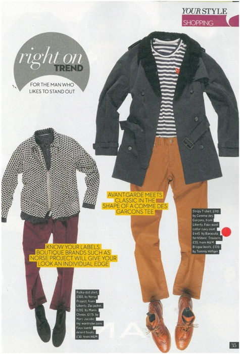 baracuta x b store twill lancer trench in sunday times