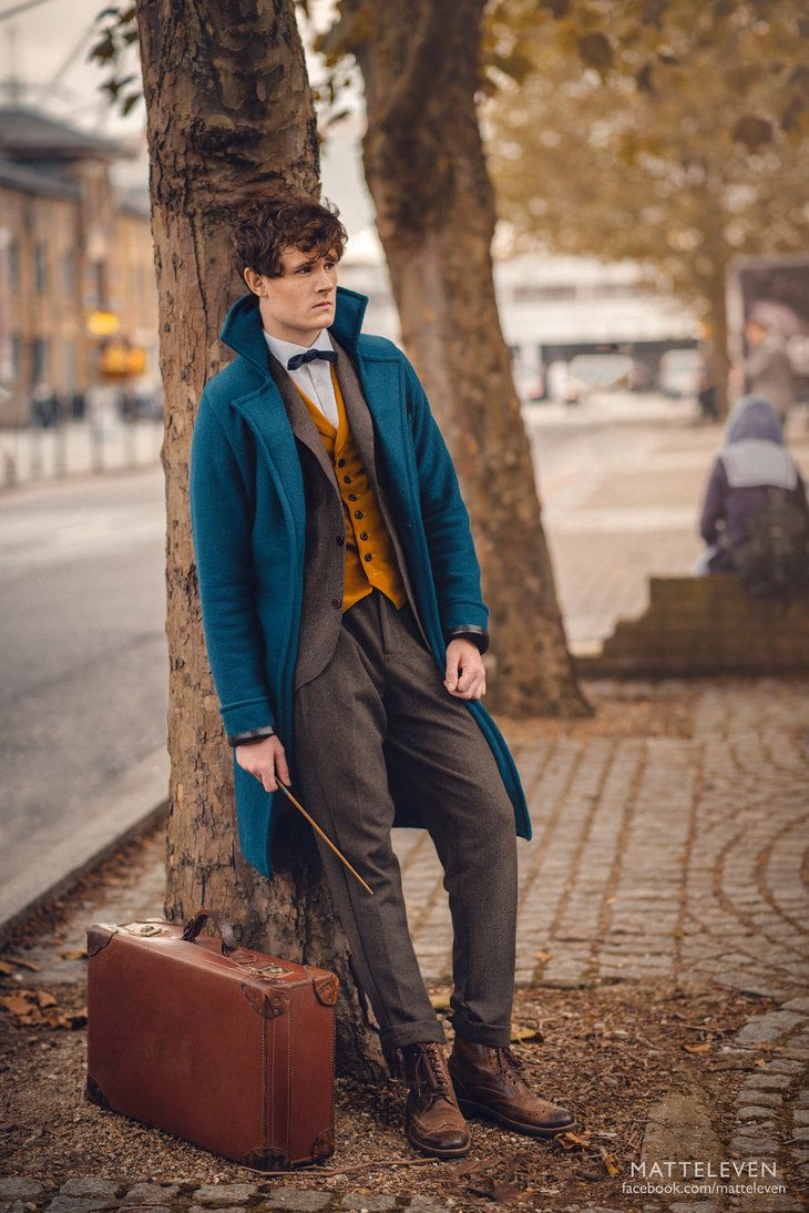 Newt Scamander Cosplay by Matteleven.deviantart.com on @DeviantArt
