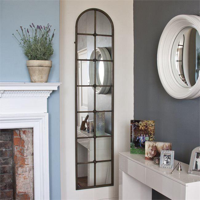 Caterina Tall Arch Window Mirror Window Mirrors Decorative Mirrors Online Arched Windows Window Mirror Arched Window Mirror