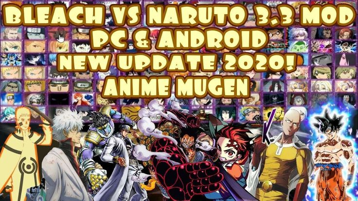 Pin di bleach vs naruto mugen android 2020