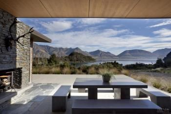 At one with the scenery, home by Fat Hippo Design Group