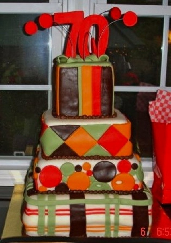 128 best Cakes 70th Birthday images on Pinterest Birthdays