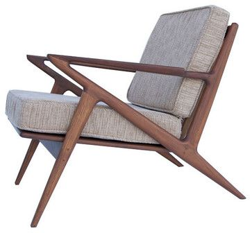Palm Springs Lounge Chair in Beige - modern - Outdoor Chaise Lounges - Dot & Bo