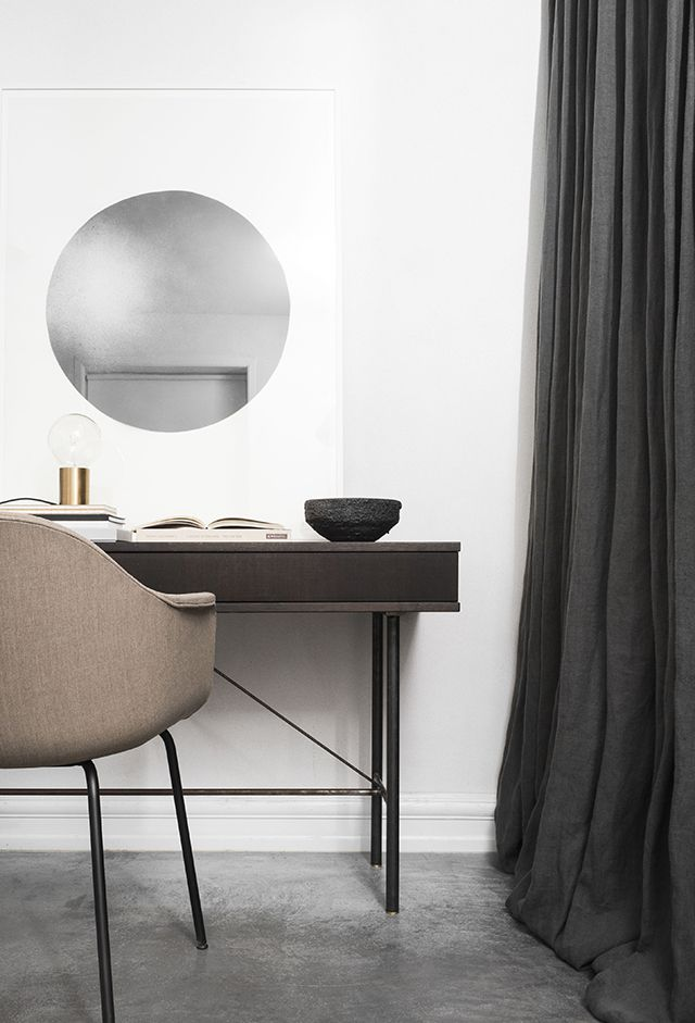 MENU | Harbour Chair and Socket Occasional Lamp at The Design Chaser