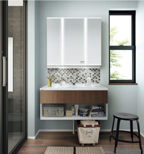 毎日使うんだったら、おしゃれで清潔な洗面台が断然いいんです! | folk シンプルスタイリッシュ