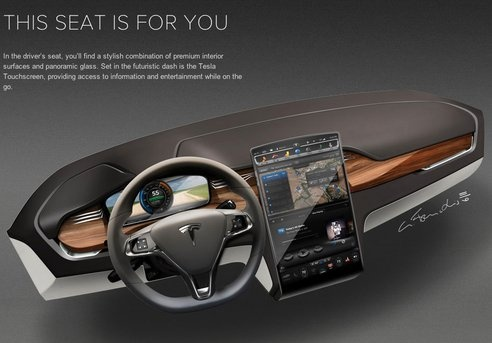 Tesla Finally Unveils Model X Electric Crossover (0-to-60 in Less Than 5 Seconds, Seats 7 Adults, AWD) The Tesla Model X CUV