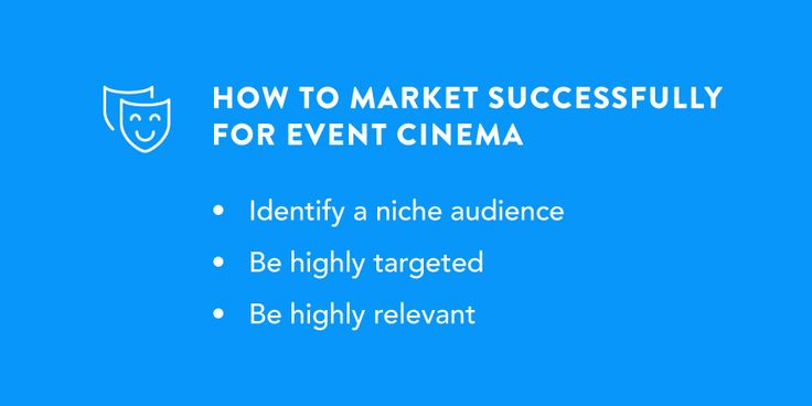 Event Cinema marketing - get some tips for #cinema #loyalty #email #marketing