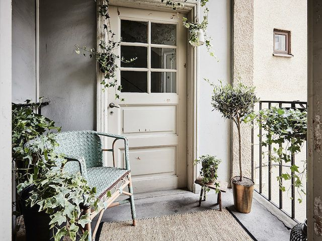 Swedish balcony.