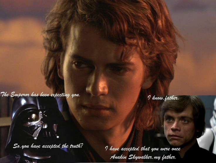 Anakin and Luke Skywalker-Star Wars