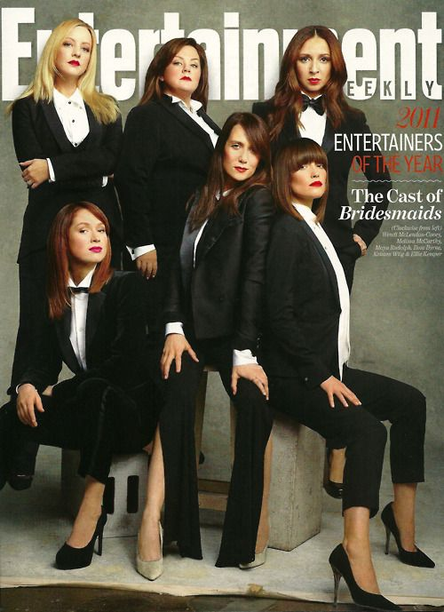 Entertainment Weekly's 2011 Entertainers of the Year: The Cast of Bridesmaids