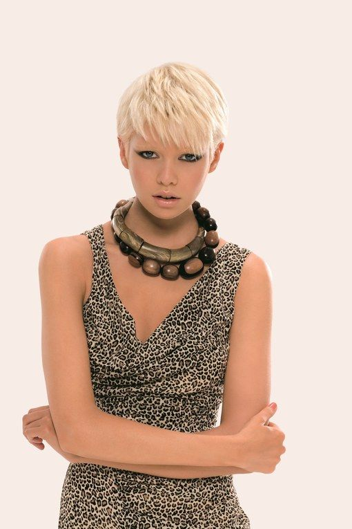 Short hairstyles: short hair styles by Dessange