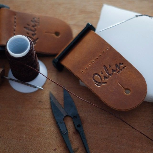 Our process#Handmade #guitarstrap #guitar #Handcraft #diy#musician #Qilinlibrary #Qilin #Leather #bass #bassstrap#Thailand #Qillin #product#guitarist