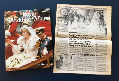 RARE-Exclusive-Star-newspaper-article-Royal-Wedding-by-Janet-Dailey1981-amp-HCBook