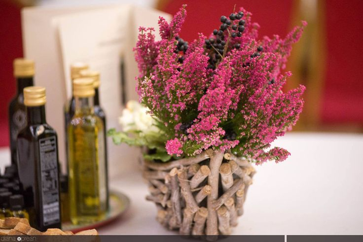 flowers arrangement for Nutrition Conference by Atelier Floristic Aleksandra concept Alexandra Crisan
