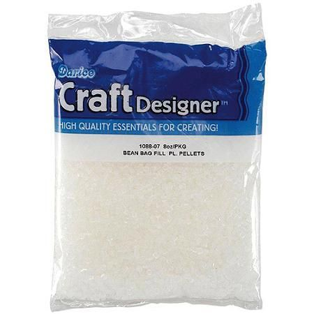 Bean Bag Filler Plastic Pellets, 8 oz