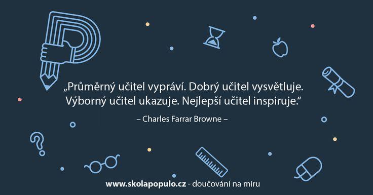Jaký na to máte názor vy? :-) www.skolapopulo.cz #brno #olomouc #praha #skolapopulo #citaty